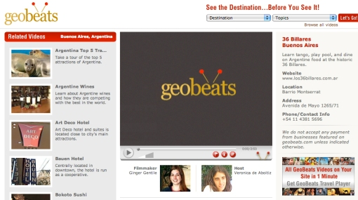 Geo Beats lets you see before you explore